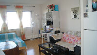 Clean 1½ apartment for sublet immediately (Spl offer for July)