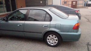 1999 Honda Civic Clean Sedan