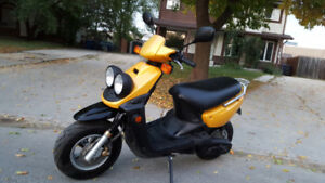 Own something special - Scooterdoc built Yamaha BWS