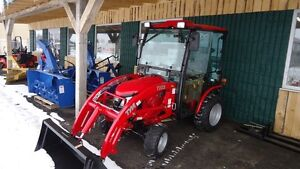 2015 TYM T254 24 HP Compact Tractor loader, cab or Mower