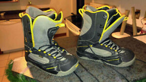 Men's snow boarding boots size 10.5