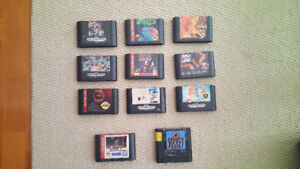 Sega Genesis Cartridges $10 each