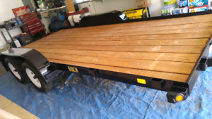 Trailer 2008 plate-forme 16 pieds 5000lbs