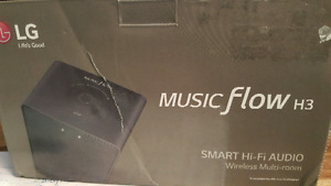 Music flow h3 wireless multi room speaker