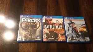 Jeux PS4 à vendre