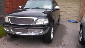 1997 ford expedition XLT 22s stereo