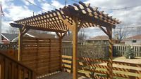 The Fence Man-  call 252 - 3502  for your free quote.