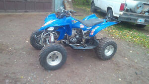 looking to trade my yfz 450 for a blown or running cr 500