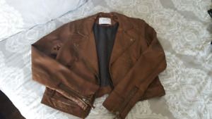 """M"" by Mendocino Brown Jacket"