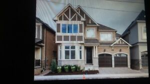 "OAKVILLE DET HOME FOR  RENT ""NEW""  4BD 4 BATH /DUNDAS SIXTH LINE"