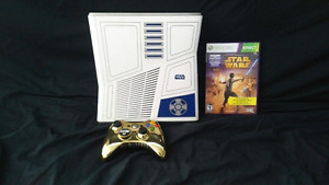Star Wars Special Edition Xbox 360s with games and accessories