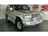 Mitsubishi Pajero 3 door 2.4cc silver japanese import corrosion free 97 in stock