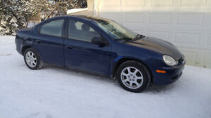Chrysler Neon 2002 winterized and in awesome condition!