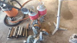 Wheel sets & castors - heater package