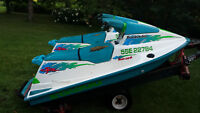 2 SEA-DOO'S TRAILER INCLUDED ( PICTON ON )