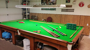 6x12 snooker table