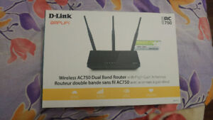Wireless AC750 dual band router (Dlink Amplifi)