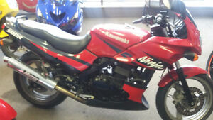 ninja 500 well maintained runs perfect clean bike