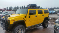 2003 HUMMER H2 SUV, Crossover trade for harley