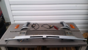 Early 70s toyota grille etc