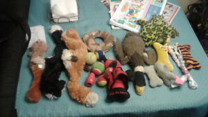Selling various small dog toys..