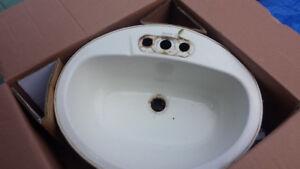 """Steel sink 20""""x17"""""""