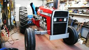 Massey Ferguson 285 with cab and Lucknow Snow Blower