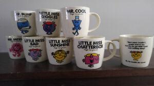 Mr Men & Little Miss Ceramic Mugs