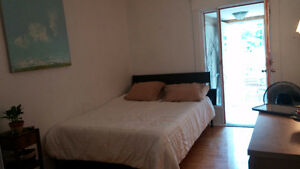 Sublet 1 bdr in 2 bdr beautiful/sunny apartment (Roncesvalles)