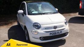 2017 Fiat 500 1.2 Lounge ECO with Rear Park Manual Petrol Hatchback