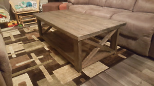 New Solid wood coffe tables