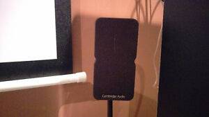 Cambridge audio minx Satellite speakers with stands and mounts