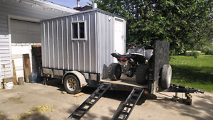 Toy Hauler With Removable Sleeper $2400