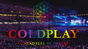 COLDPLAY - Centre Bell - 9 AOUT - Bell Center - AUGUST 9TH