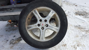 Tire and Rim For Chev Uplander 2005