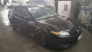 2004 Acura TL Sedan black on black leather ! NO LIGHTS