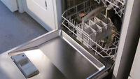 Lave-vaisselle Bosch intérieur inox