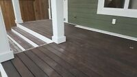 DECKS & FENCING BY THE FOOT 306-979-9133