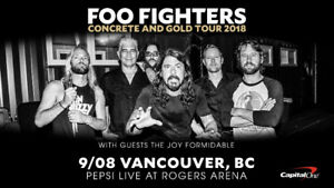 Foo Fighters at Rogers Arena