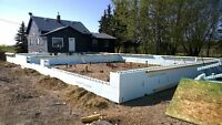 Frost wal/Grade beam ICF contractor for hire