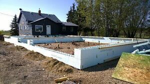 Frost wal/Grade beam ICF contractor for hire Strathcona County Edmonton Area image 1
