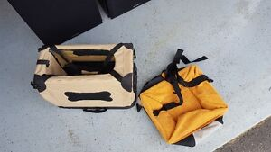 Puppy Carrying Case and Puppy Booster Seat