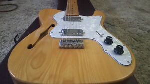 Early 70's Morris Thin Line Telecaster Deluxe