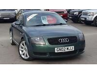 2002 AUDI TT QUATTRO LOVELY METALLIC GREEN RECENT PX A VERY WELL PRESENTED