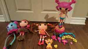 4 La la loopsy lot  + pieces
