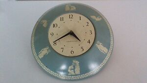 Vintage Westclox Wall Battery Operated Clock/Horloge