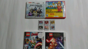 Nintendo 3DS games $15 to $35