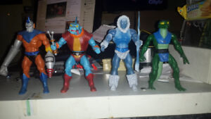 Masters of the Universe Classics Filmation lot
