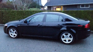 2005 Acura TL - Low kms, clean title, new tires + battery
