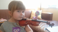 Suzuki Violin Lessons - Start as early as 3 years old!